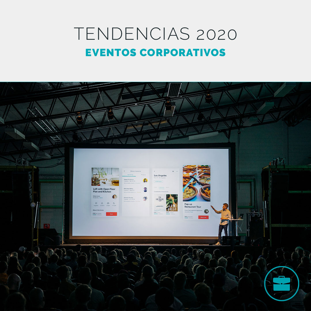 Tendencias en eventos corporativos 2020
