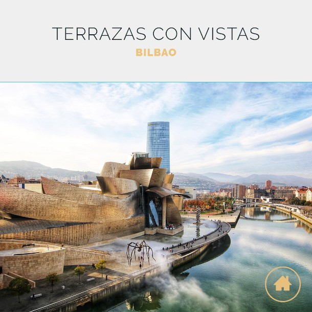 9 terrazas espectaculares de Bilbao para que
