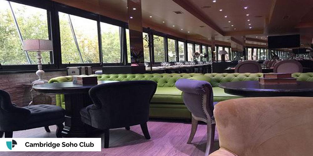 Locales para cumpleaños - Cambridge Soho Club