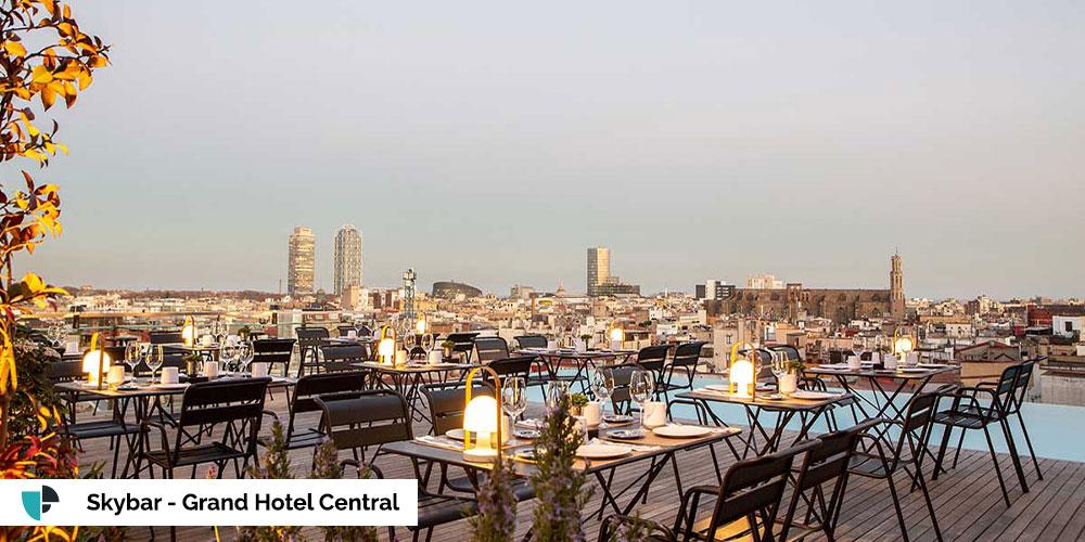Grand Hotel Central terraza