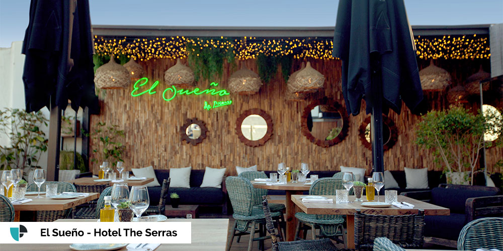 terraza fiestas hotel the serras