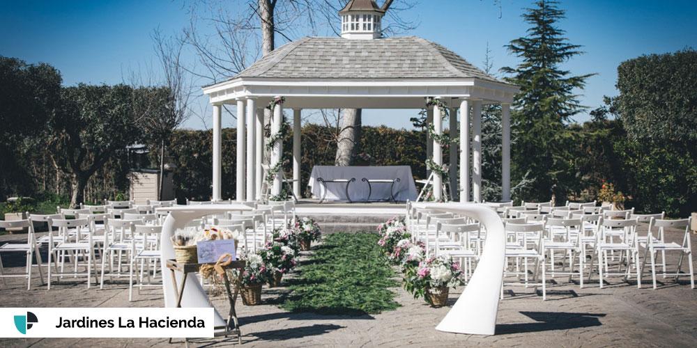 Jardines La Hacienda boda Valencia