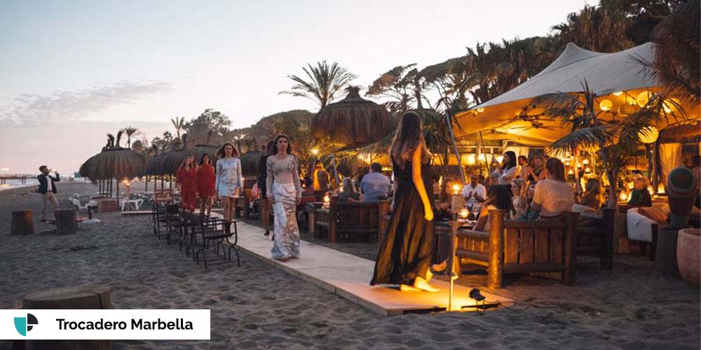 bodas en la playa Trocadero Marbella