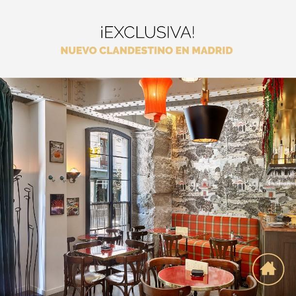 Un nuevo restaurante en Madrid con secreto&nb