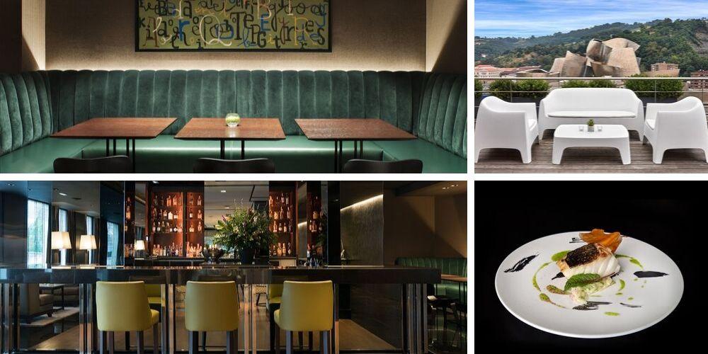 collage gran hotel domine bilbao