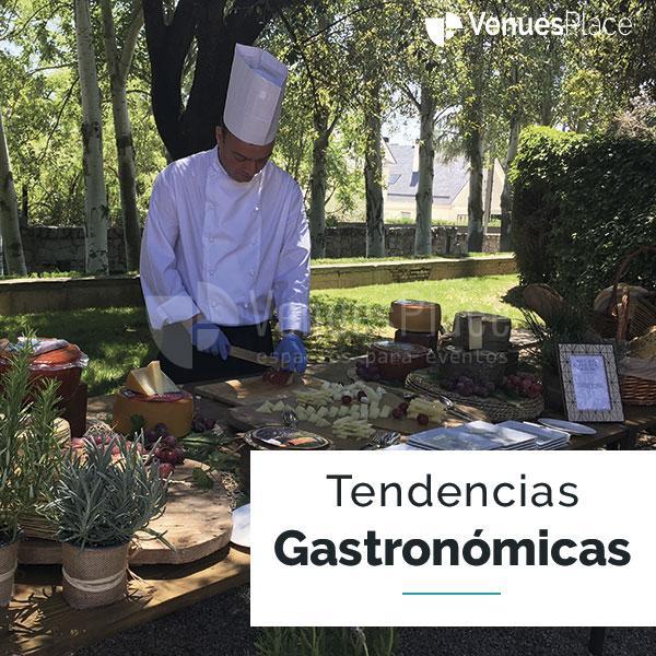 Últimas tendencias gastronómicas en eventos