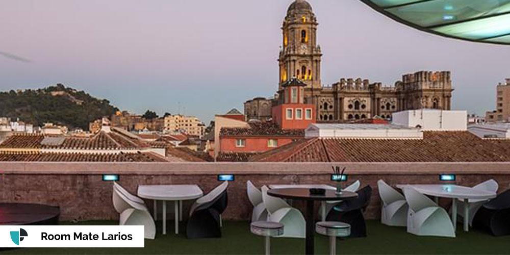 terraza room mate larios