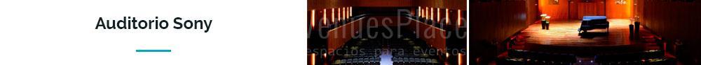Auditorio Sony