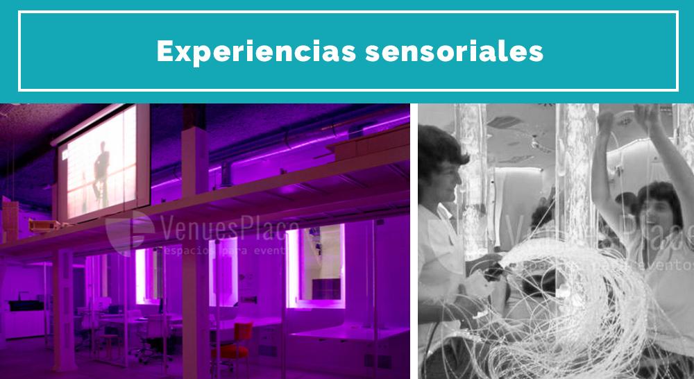 Experiencias sensoriales