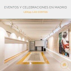 Eventos y celebraciones en Madrid en LBK99 Las Cortes