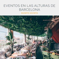 Terraza Vistas 360, eventos en las alturas de Barcelona