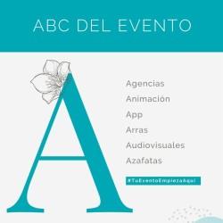 El ABC de los eventos: A