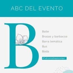 El ABC de los eventos: B