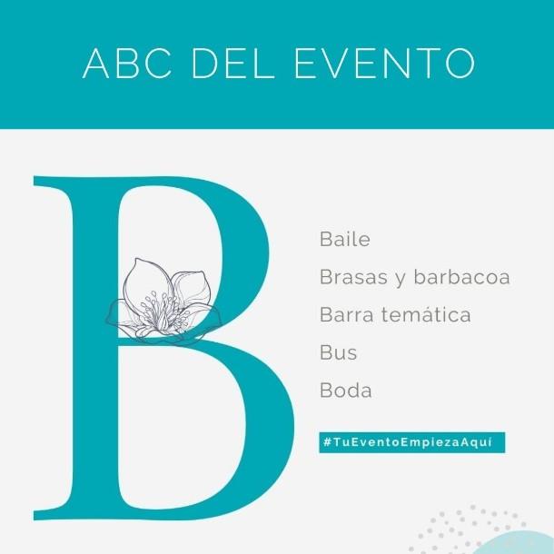 ABC del evento: B Como ya debes sabes si sigu