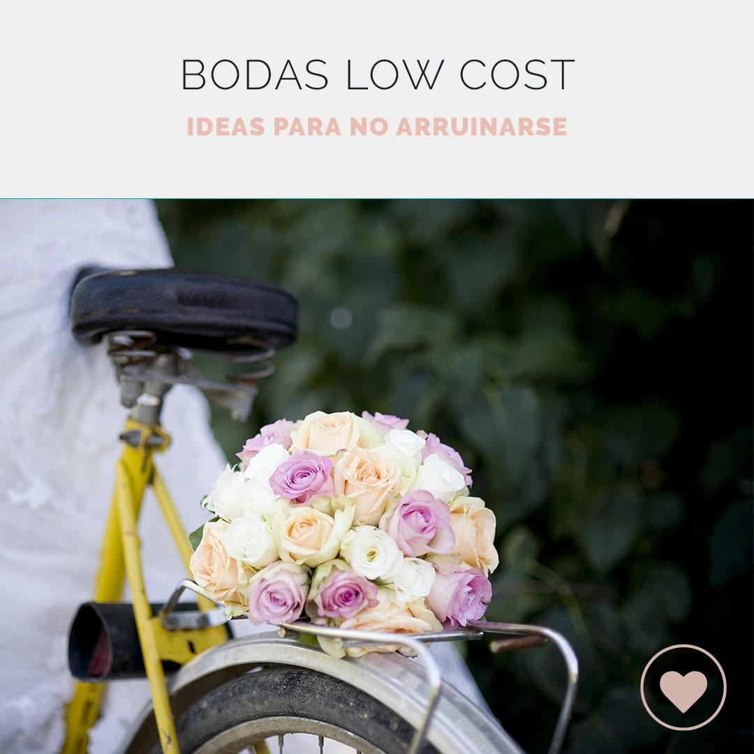 Boda low cost, ideas para ahorrar en tu gran día