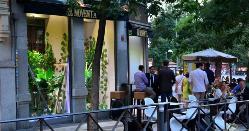 Lounge bar  en El 90 de Alcalá