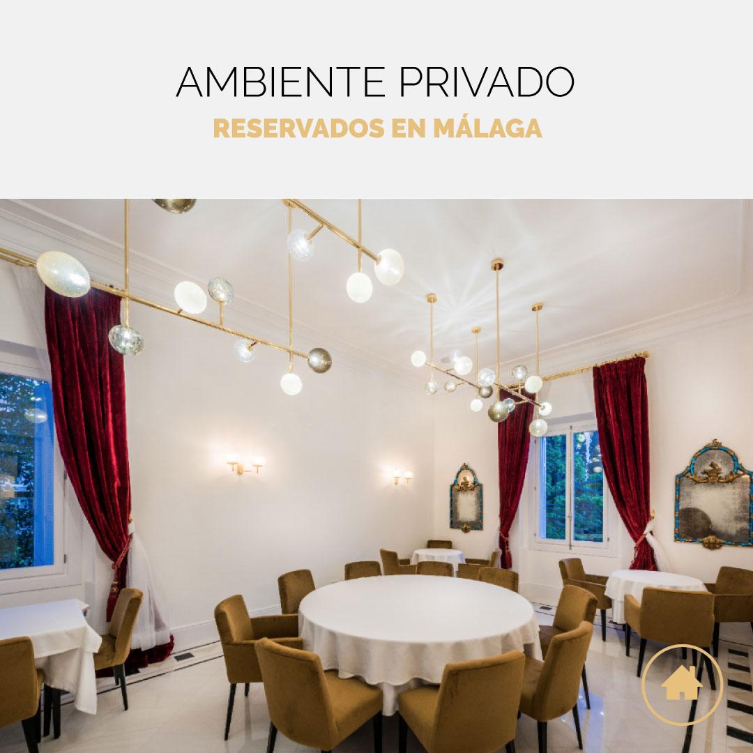 Restaurantes con reservado en Málaga para eventos