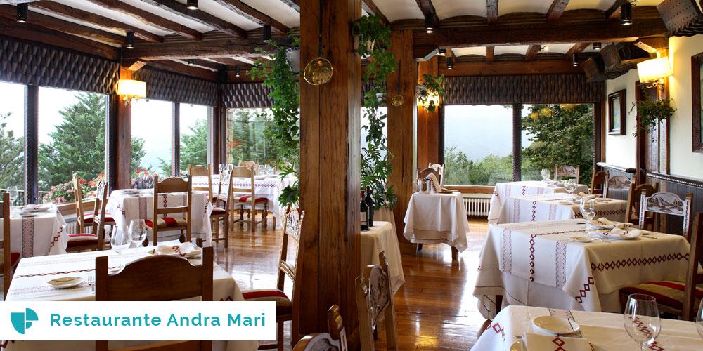 restaurante Andra Mari Comunión