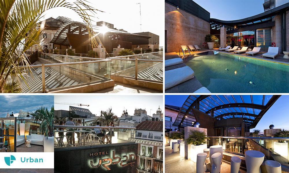 terraza hotel urban eventos