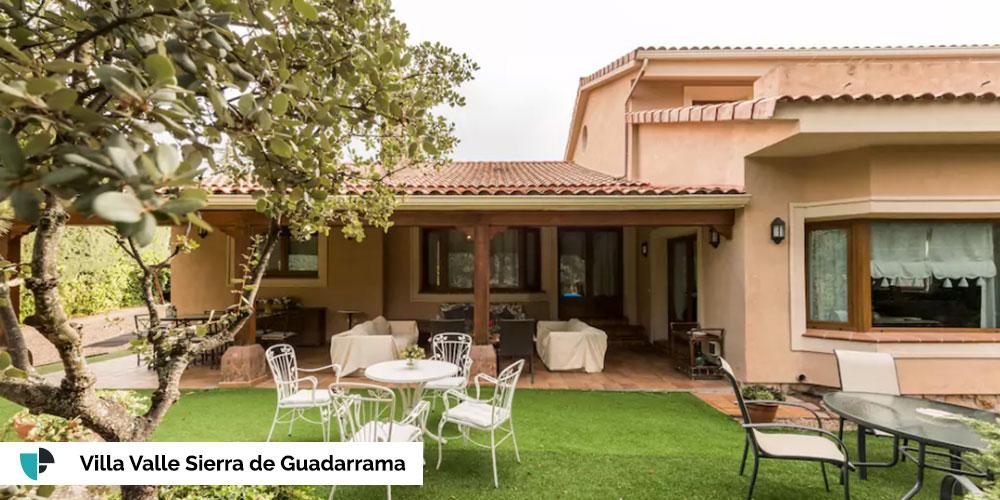 Casa rodaje Villa valle Sierra de Guadarrama