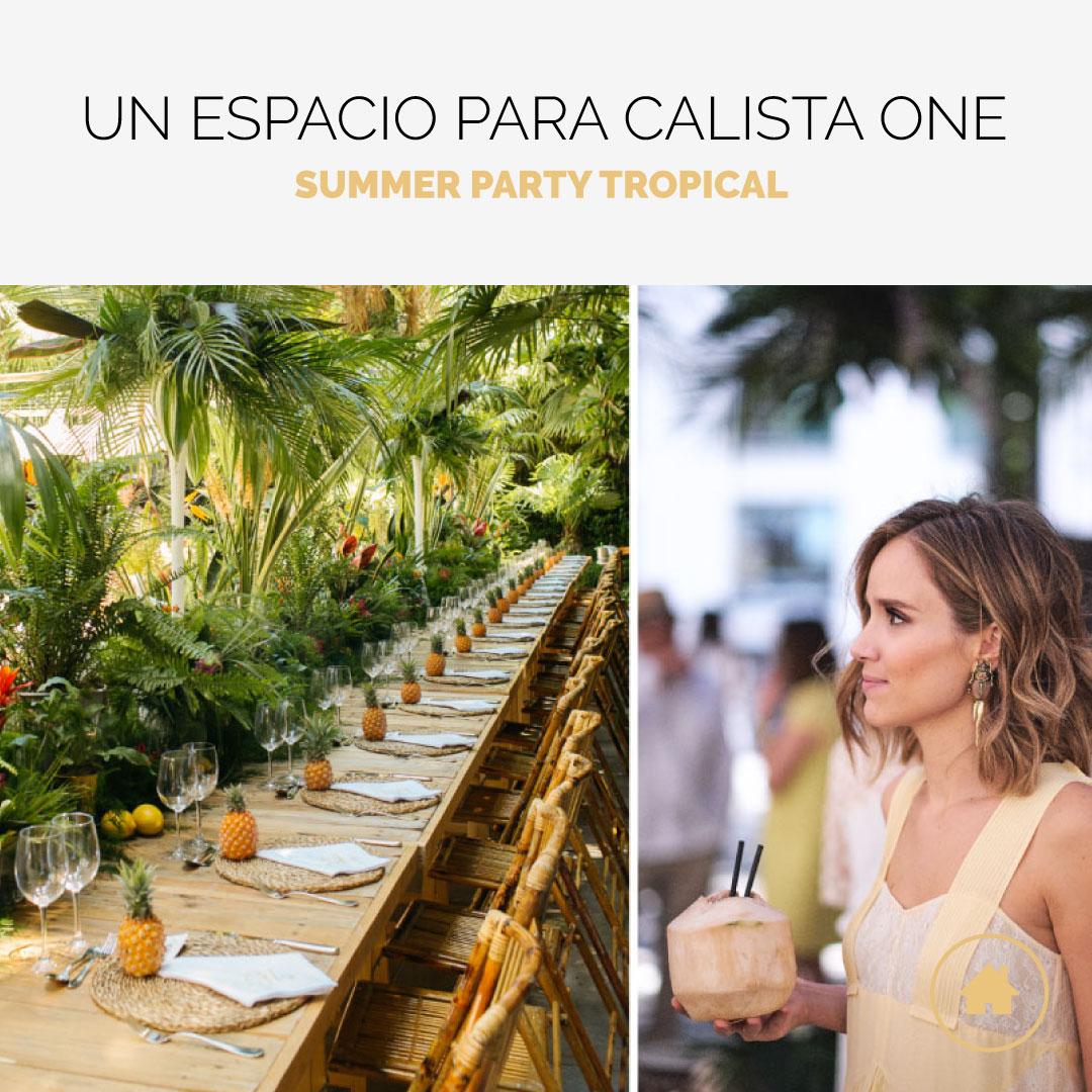 VenuesPlace ayuda a Calista One en su Summer Party 2018