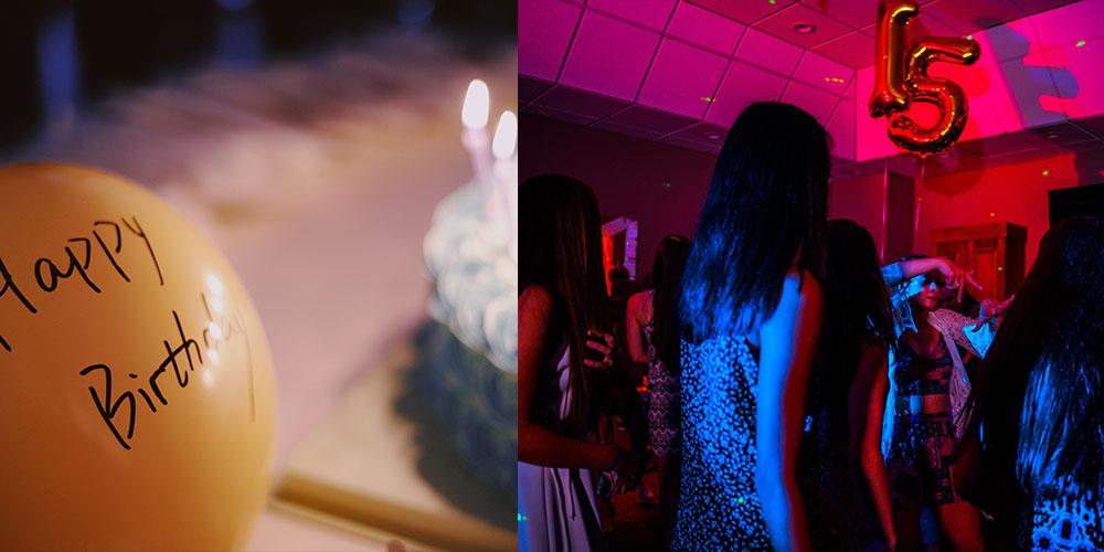cumpleaños adolescentes