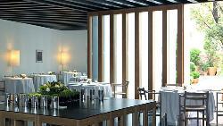 Interior Atrio Restaurante Hotel