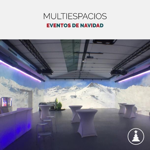 15 espacios originales para eventos de Navida