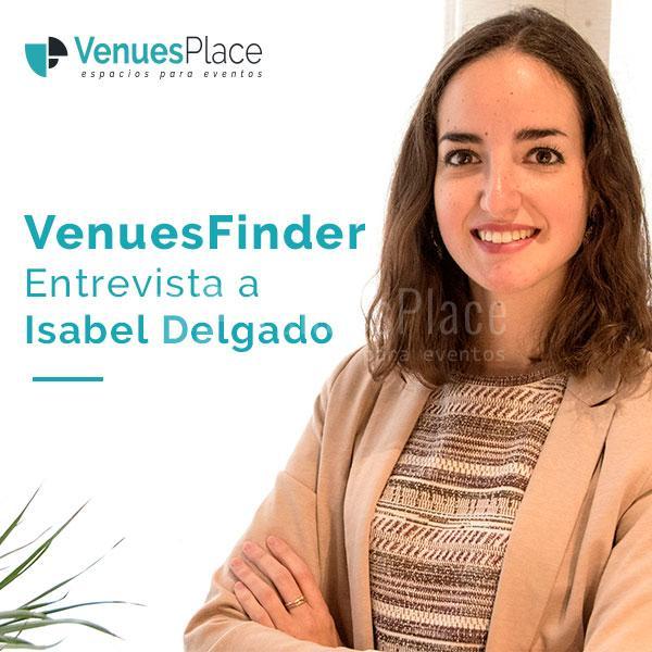 Isabel Delgado del equipo VenuesFinder de VenuesPlace