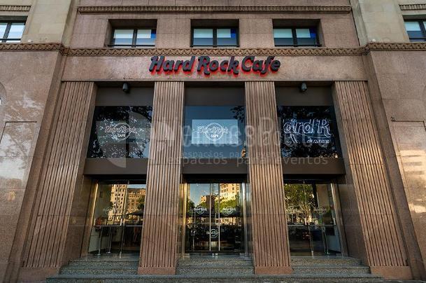 The legendary Hard Rock Cafe restaurant chain