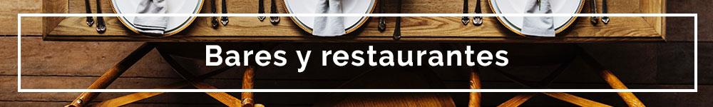 Bares y restaurantes fiestas privadas