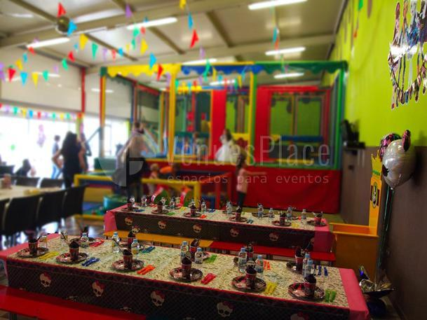 La Fábrica de Chocolate Parque infantil