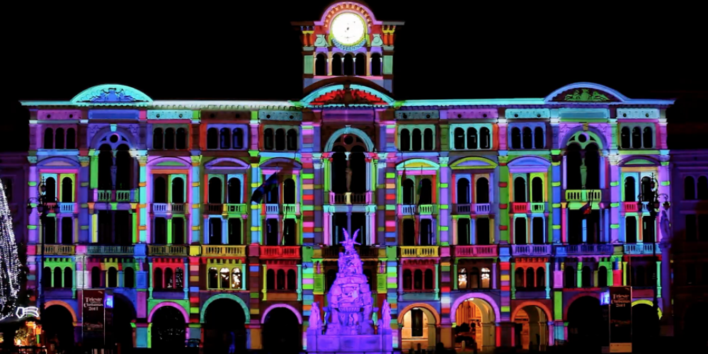 video mapping eventos
