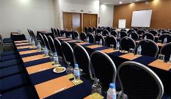 Salón Limonar en Sercotel Málaga montaje en escuela