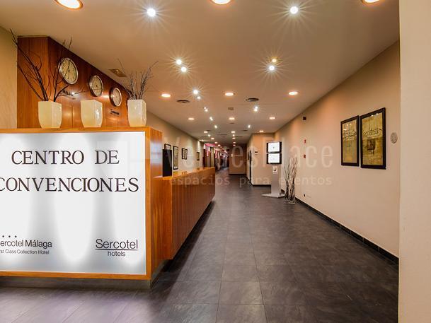 Interior 4 en Sercotel Málaga