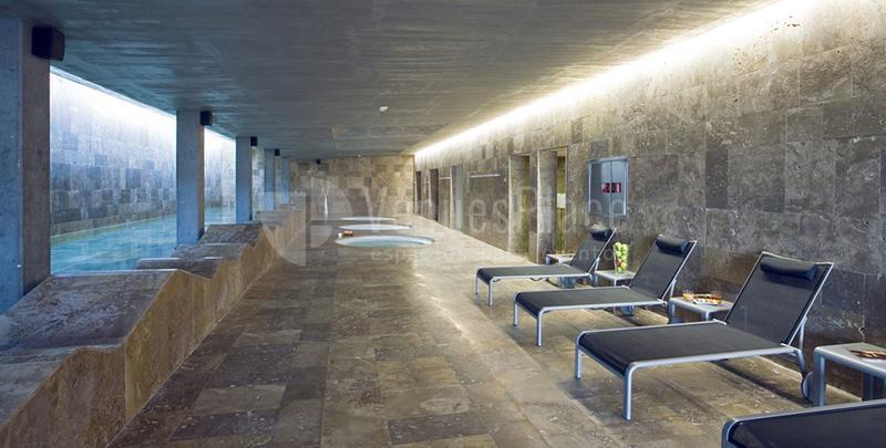 Zona de spa en Parador de El Saler
