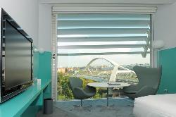 Preciosa habitación para disfrutar de una visita al Hotel Hiberus