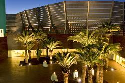 Terraza con vistas del Hotel Hiberus
