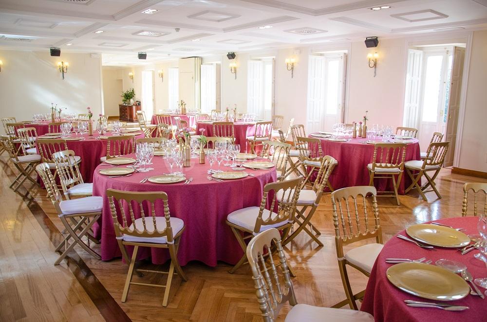 Comidas y cenas de empresa en Palacete de los Duques de Pastrana - Vilaplana Catering