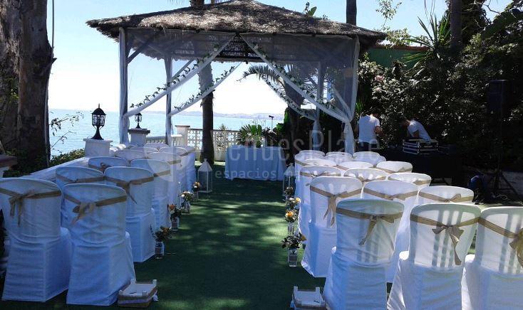 Bodas con las mejores vistas en Restaurante La Viborilla y Malibu Beach club