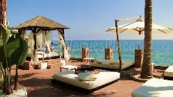 Magnífica terraza en Malibu Beach club