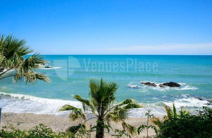 Vistas al mar en Restaurante La Viborilla