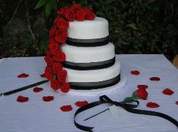 Tarta de boda en Restaurante La Viborilla y Malibu Beach club