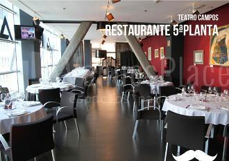 Restaurante 5ª Planta -  Teatro Campos Elíseos de Bilbao