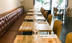 Sala interior en Colella Restaurant