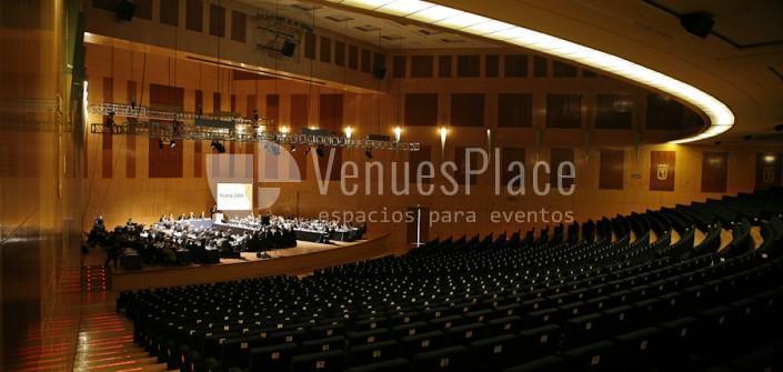 Interior del Auditorio, eventos de empresa en el IFEMA Palacio de Congresos