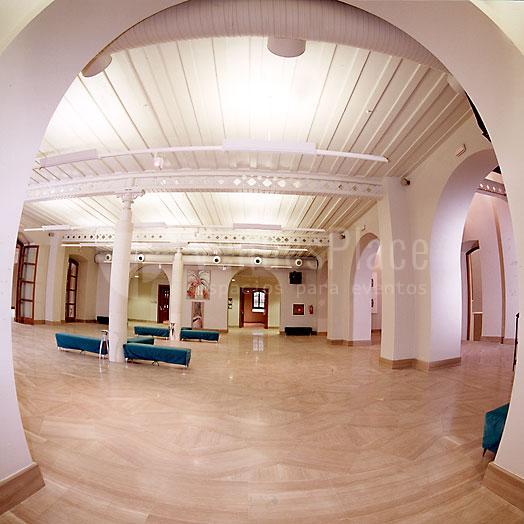 Foto Sala exposiciones enPalacio de Congresos de Cádiz