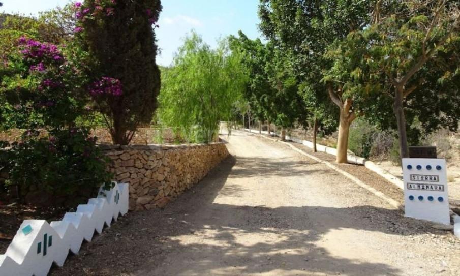 Entrada Finca Al-Kalamtin