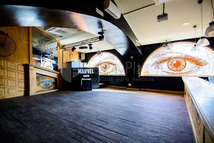 Fiestas privadas en Marvel Madrid