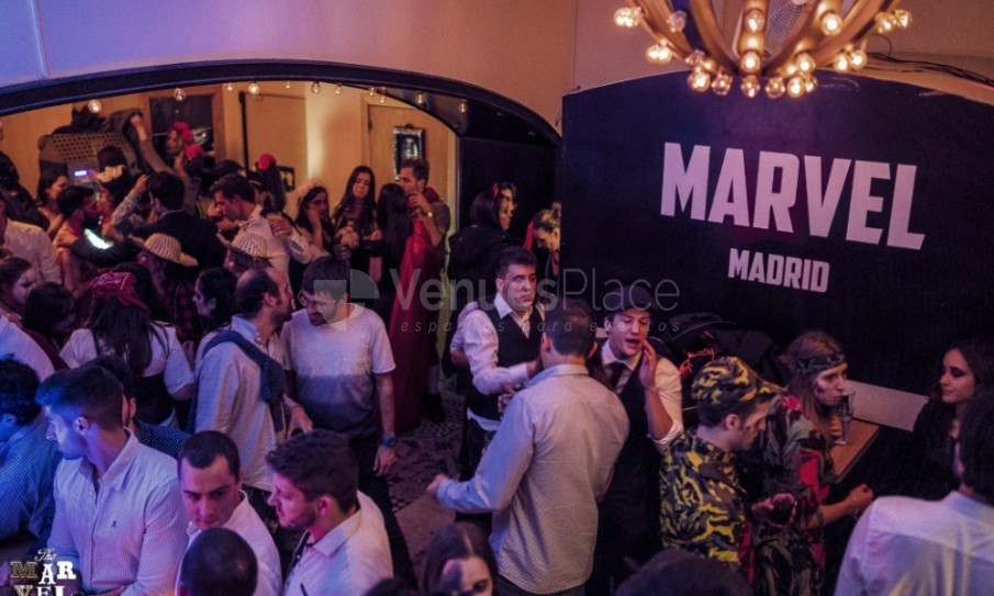 Montaje 3 en Marvel Madrid